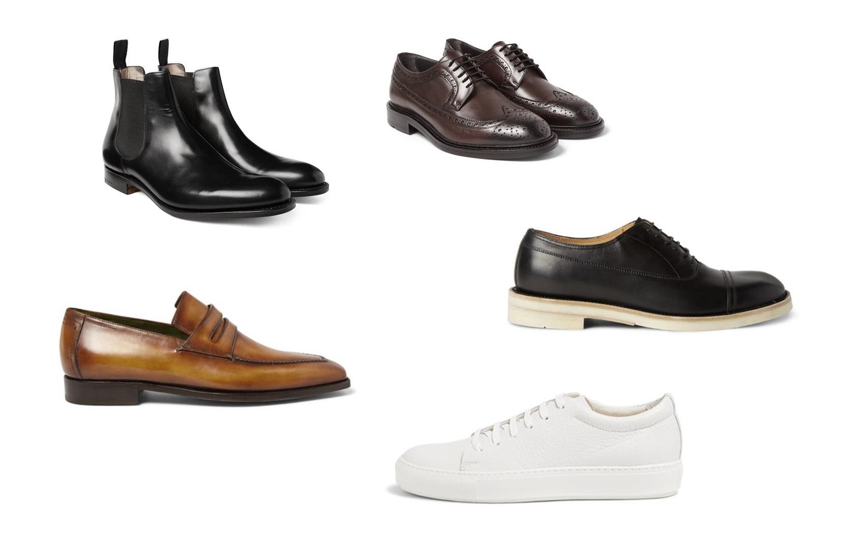 5 modelli di scarpe in pelle che un uomo dovrebbe avere nel proprio guardaroba